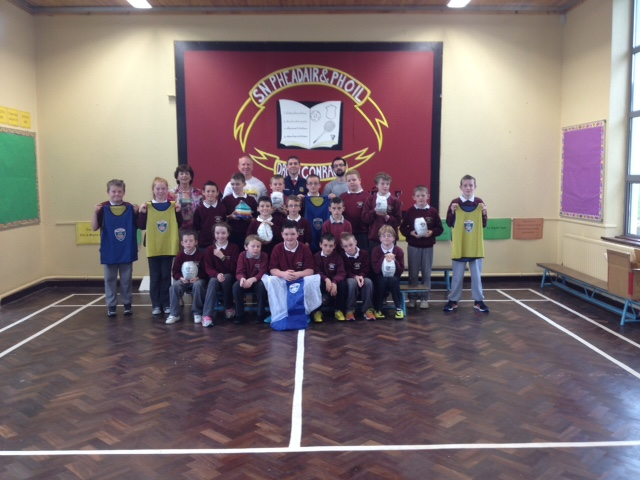 Presentation of Training Equipment to Drumconrath NS